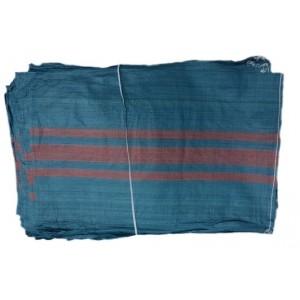 Worki polipropylenowe z zaciągiem niebieskie 50cmx80cm - Na Węgiel  500szt