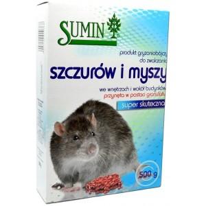 Sumin Trutka Granulowana Na Szczury 500g