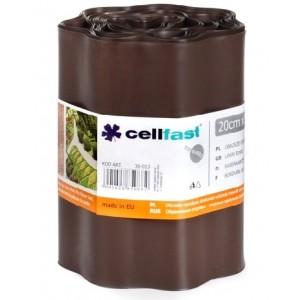 Cellfast Obrzeże Trawnikowe Brązowe 20cm x 9mb