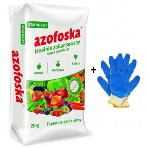 Nawóz Uniwersalny Azofoska 25 kg + rękawice GRATIS