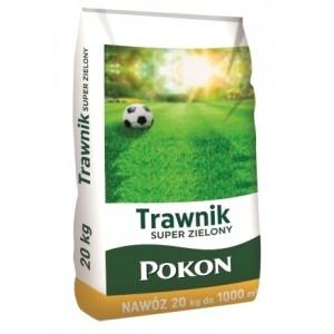 Pokon Nawóz Do Trawnika Trawnik Super Zielony 20kg