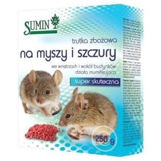 Sumin Trutka zbożowa na myszy i szczury 250g