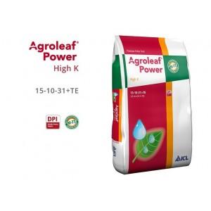 Nawóz Agroleaf Power High K 15 kg