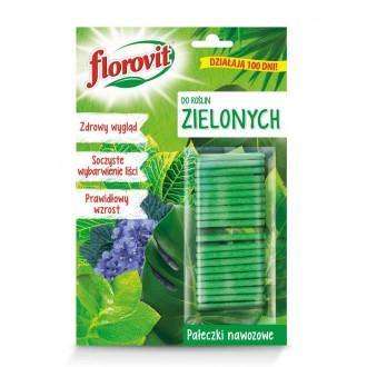 Florovit Pałeczki Nawozowe do Roślin Zielonych 20 szt