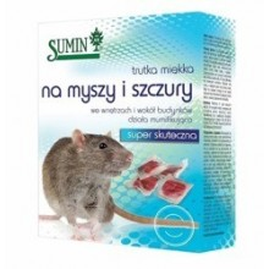 Trutka Miękka na Myszy i Szczury Pasta 500g Sumin