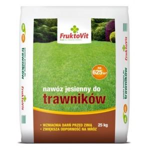 Fruktovit Nawóz Jesienny do Trawników 25 kg