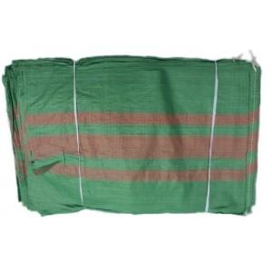 Worki PP 50kg 65x105cm Zielone - Na Węgiel, Gruz, Zboże 500szt