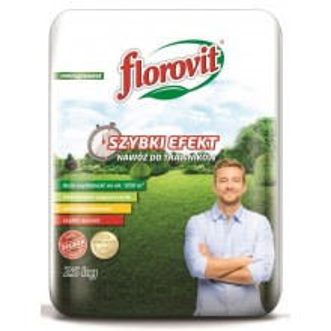 Florovit Nawóz Szybki Efekt do Trawników 25 kg