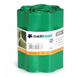 Cellfast Obrzeże Trawnikowe Zielone 20cm x 9mb