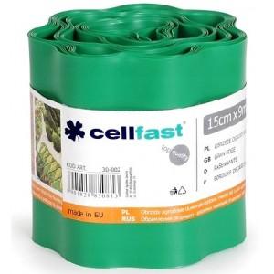 Cellfast Obrzeże Trawnikowe Zielone 15cm x 9mb