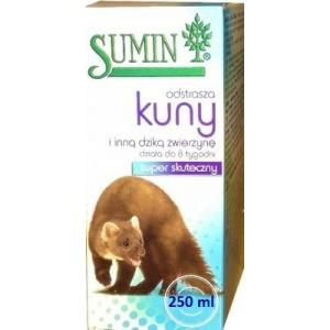Sumin Płyn Odstraszający Kuny I Inne Dzikie Zwierzęta 250 ml