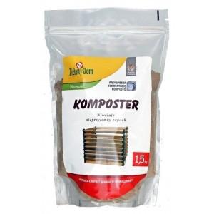 Zielony Dom Komposter 1,5kg Aktywator Kompostu