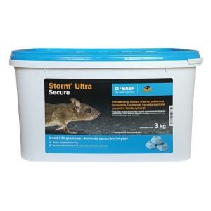 Storm Ultra Secure 3kg Trutka na szczury, myszy
