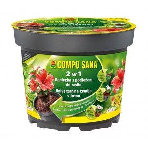 Compo Sana 2w1 Doniczka z Podłożem 3,5 L