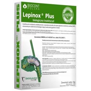 Lepinox PLUS 1kg Gąsienice Ćmy Bukszpanowej