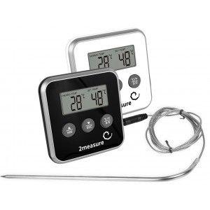 Termometr do pieczenia elektroniczny z sondą 185800