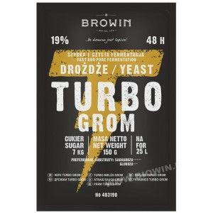 Drożdże gorzelnicze Turbo Grom 48h 403190