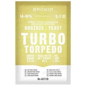 Drożdże gorzelnicze Turbo 5-7 dni 95g 403130