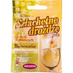 Drożdże Do Wina Winiarskie w Płynie Uniwersalne