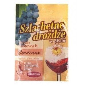 Drożdże Do Wina Winiarskie w Płynie Bordeaux
