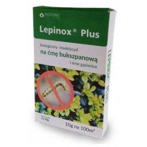 Lepinox PLUS 3x10g Gąsienice Ćmy Bukszpanowej