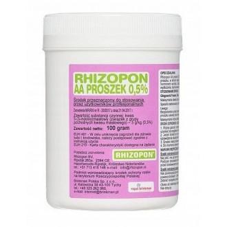Ukorzeniacz do zielonych Rhizopon 0,5% 100g hormon
