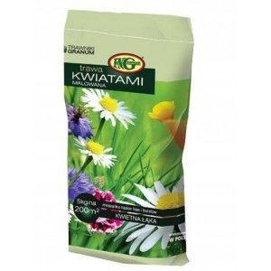 Trawa Granum Kwietna Łąka kwiatami malowana 5kg