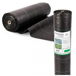 Agrotkanina czarna 0,6x100 70g/m2