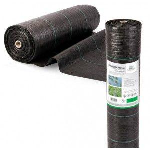 Agrotkanina czarna 1,6x50 70g/m2