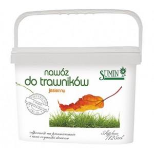 Jesienny nawóz do trawników Sumin 5 kg