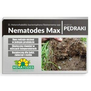 Nematodes Max 75 mln Nicienie na Pędraki na 150m2