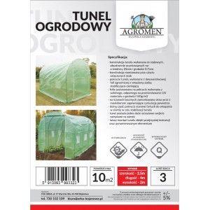 Tunel Foliowy Ogrodowy Szklarnia na Warzywa 4x2,5x2m