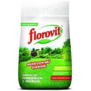 Florovit Mistrzowski Trawnik Nawóz do Trawników z Mchem 5 kg