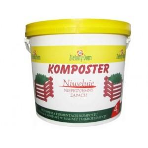 Zielony Dom Komposter 4kg Aktywator Kompostu