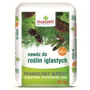 Fruktovit Nawóz do Roślin Iglastych 25 kg