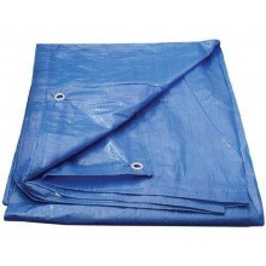 Plandeka Niebieska 5x5 Wzmacniana 60g/m2