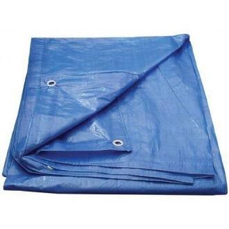 Plandeka Niebieska 5x6 Wzmacniana 60g/m2